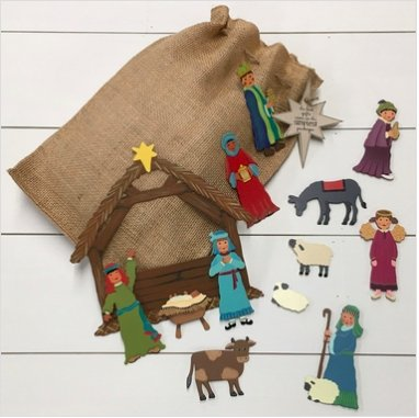 MAGNETIC NATIVITY SET - Molly's! A Chic and Unique Boutique