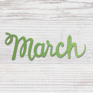 """MARCH"" MAGNET GREEN - Molly's! A Chic and Unique Boutique"