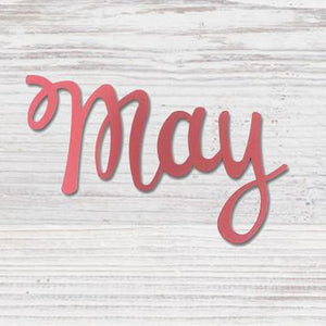 """MAY"" MAGNET HOT PINK - Molly's! A Chic and Unique Boutique"