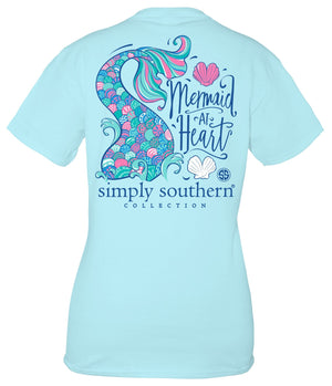 MERMAID AT HEART T-SHIRT - Molly's! A Chic and Unique Boutique