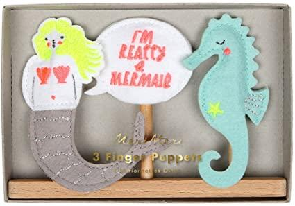 MERMAID FINGER PUPPETS - Molly's! A Chic and Unique Boutique
