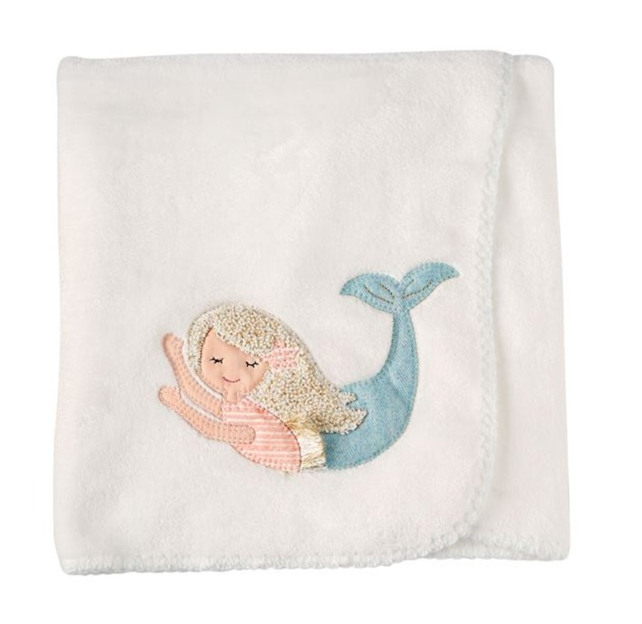 MERMAID FLEECE BLANKET - Molly's! A Chic and Unique Boutique