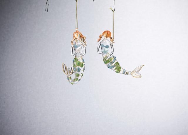 MERMAID ORNAMENTS - Molly's! A Chic and Unique Boutique