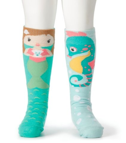 MERMAID & SEAHORSE SOCKS - Molly's! A Chic and Unique Boutique