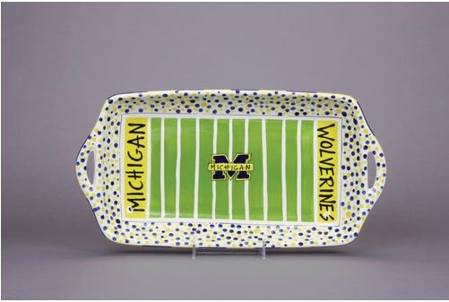 MICHIGAN STADIUM PLATTER - Molly's! A Chic and Unique Boutique