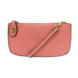 MINI CROSSBODY WRISTLET CLUTCH- BLUSH - Molly's! A Chic and Unique Boutique