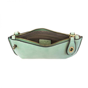 MINI CROSSBODY WRISTLET CLUTCH- SEAFOAM - Molly's! A Chic and Unique Boutique
