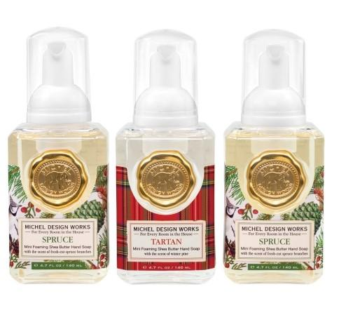 MINI FOAMING SET SPRUCE, TARTAN, SPRUCE - Molly's! A Chic and Unique Boutique