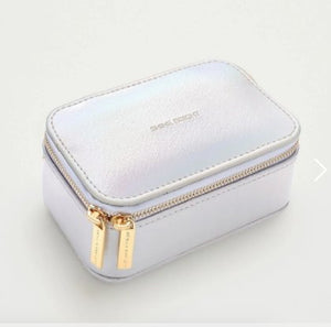 MINI JEWELLERY BOX - IRIDESCENT AND GOLD - Molly's! A Chic and Unique Boutique