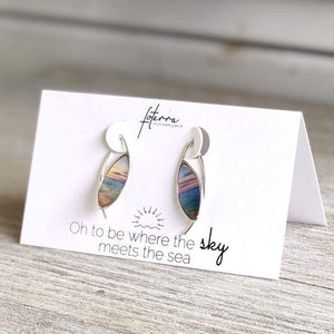 MINI SUNSET SURF EARRINGS - Molly's! A Chic and Unique Boutique