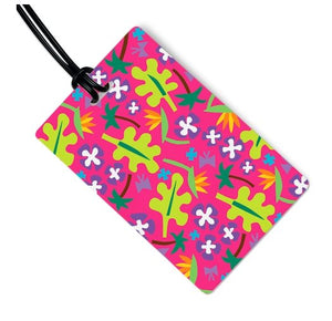 NANCY FLORAL LUGGAGE TAG - Molly's! A Chic and Unique Boutique