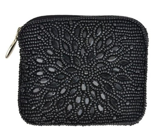NIGHT BLOOM COIN PURSE METALIC - Molly's! A Chic and Unique Boutique