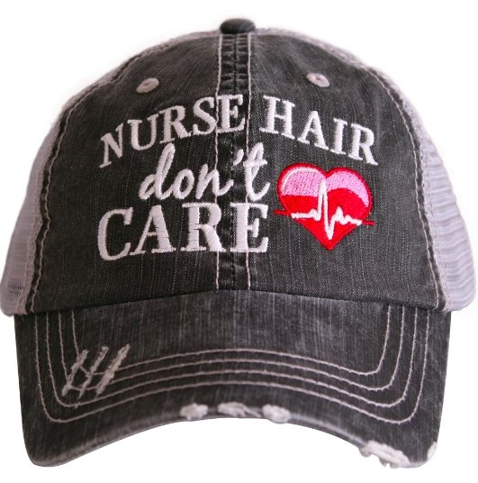 NURSE TRUCKER HAT - KDC-TC-361 - Molly's! A Chic and Unique Boutique