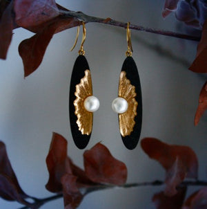 OYSTER EARRINGS - Molly's! A Chic and Unique Boutique