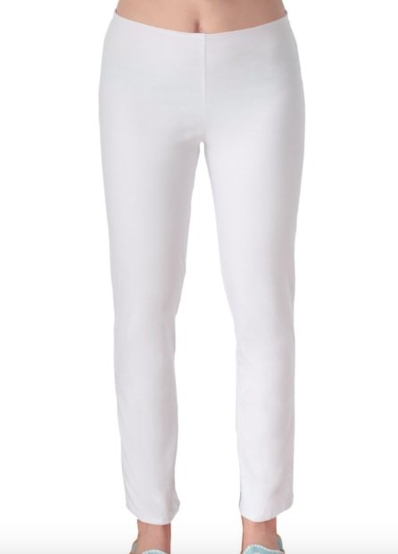 SPANDEX PULL ON (WHITE) PANT - PAEQSO - Molly's! A Chic and Unique Boutique