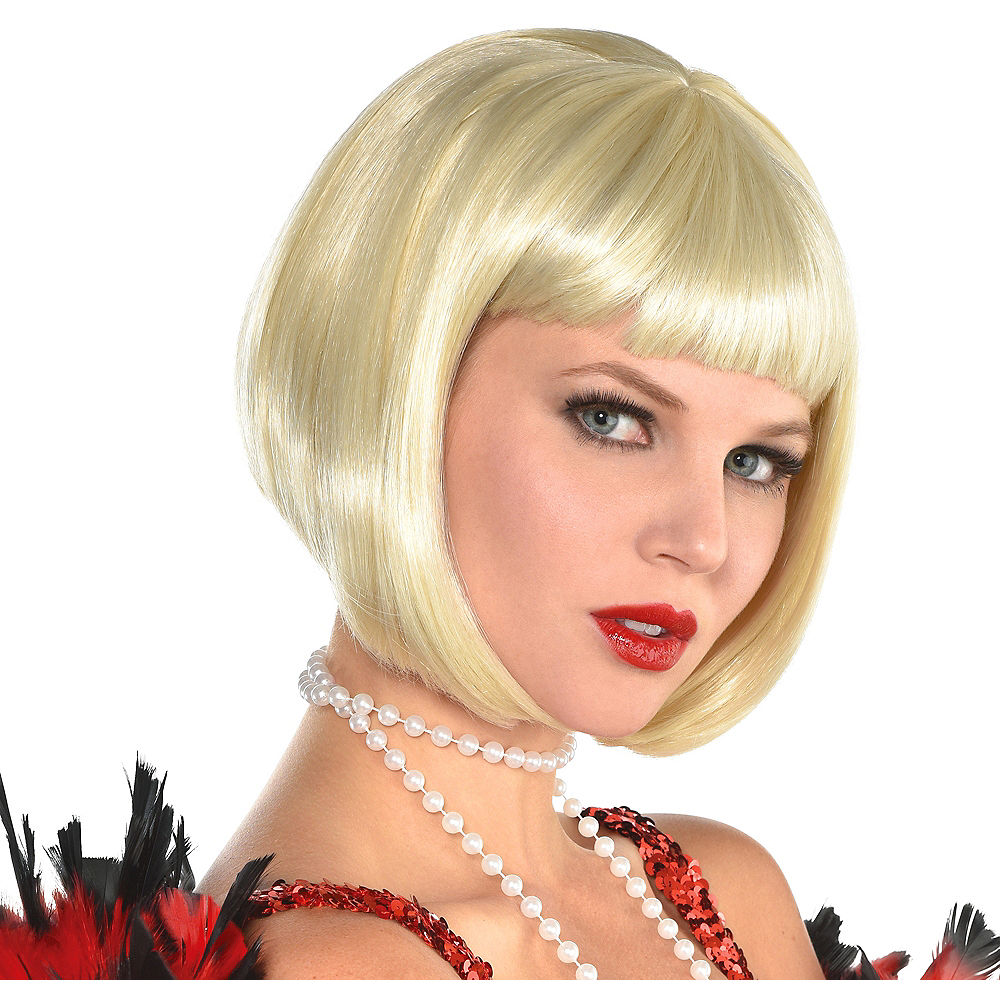 BLONDE FLAPPER WIG - Molly's! A Chic and Unique Boutique