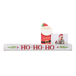 HO HO HO PHOTO HOLDER - Molly's! A Chic and Unique Boutique