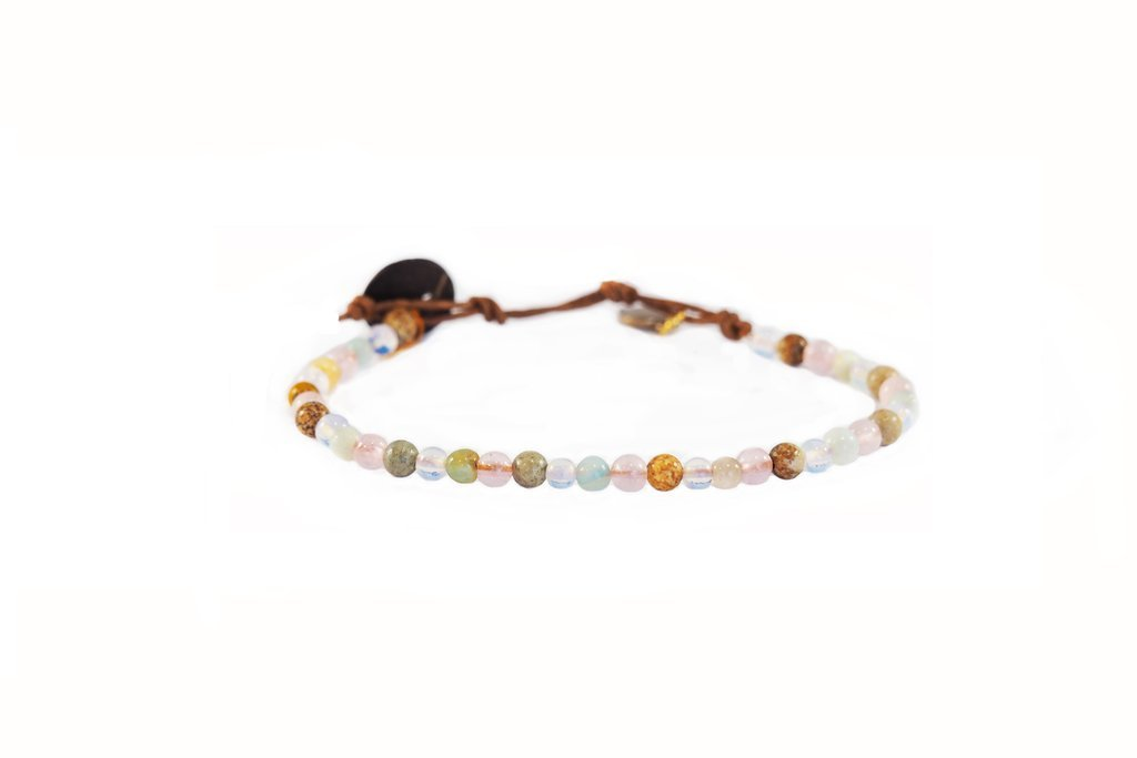 PEACE & LOVE (4MM) HEALING BRACELET - Molly's! A Chic and Unique Boutique