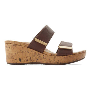 PEPPER WEDGE CHOCOLATE (SIZE 7 ONLY) - Molly's! A Chic and Unique Boutique