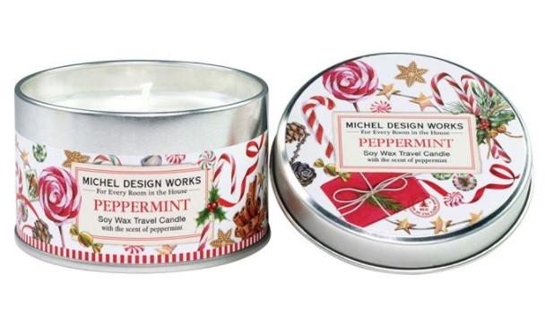 PEPPERMINT TRAVEL CANDLE - Molly's! A Chic and Unique Boutique