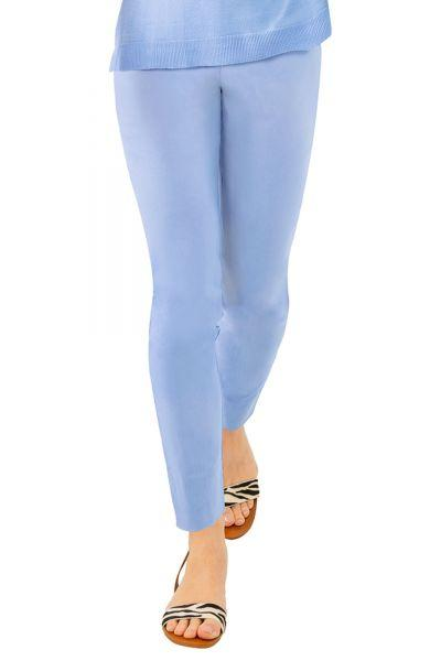 PERIWINKLE EASY PULL-ON PANTS - Molly's! A Chic and Unique Boutique
