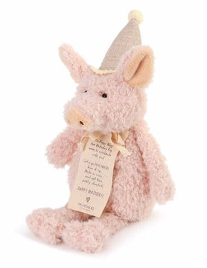 PIGGY WIGG THE BIRTHDAY PIG PLUSH - Molly's! A Chic and Unique Boutique