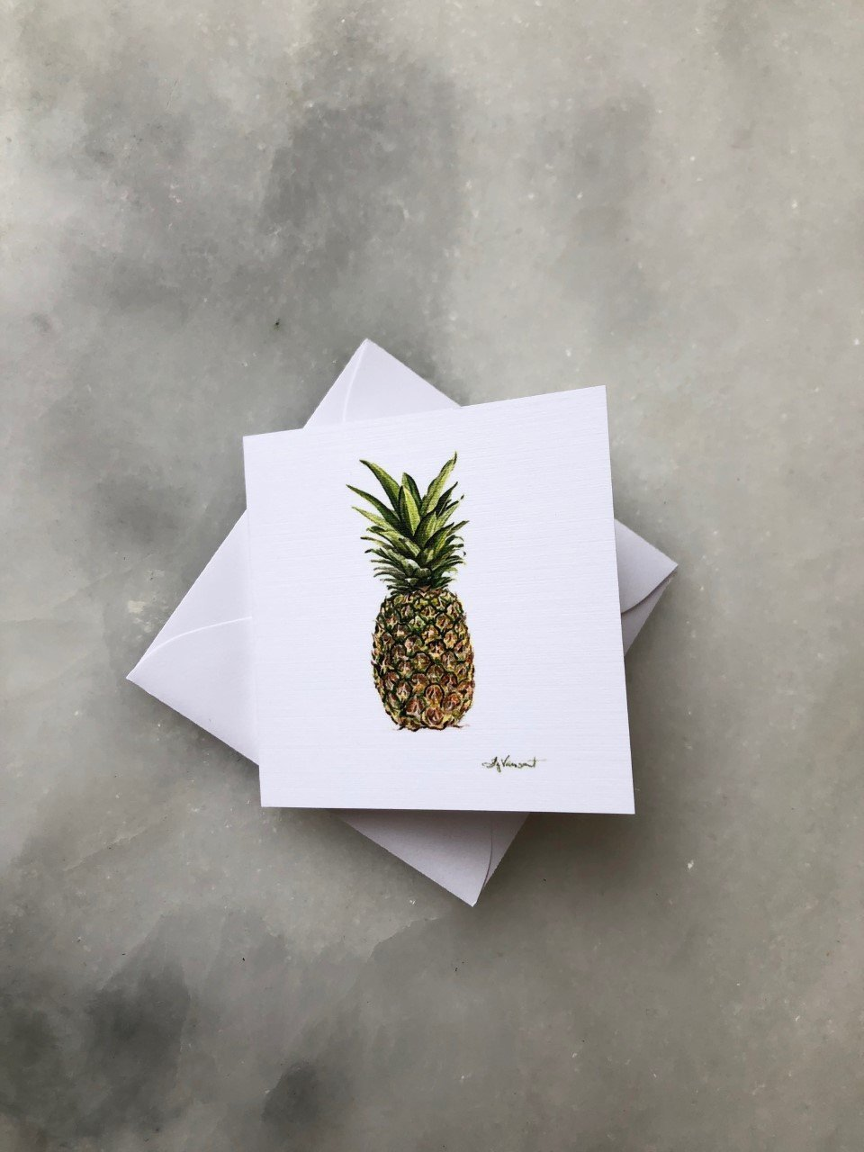 PINEAPPLE ENCLOSURE CARD - Molly's! A Chic and Unique Boutique