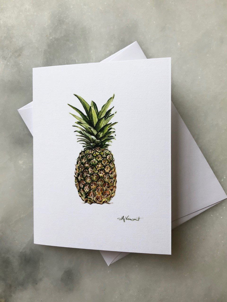 PINEAPPLE GREETING CARD - Molly's! A Chic and Unique Boutique