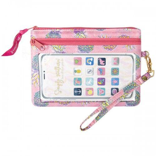 Pineapple Phone Wristlet - Molly's! A Chic and Unique Boutique