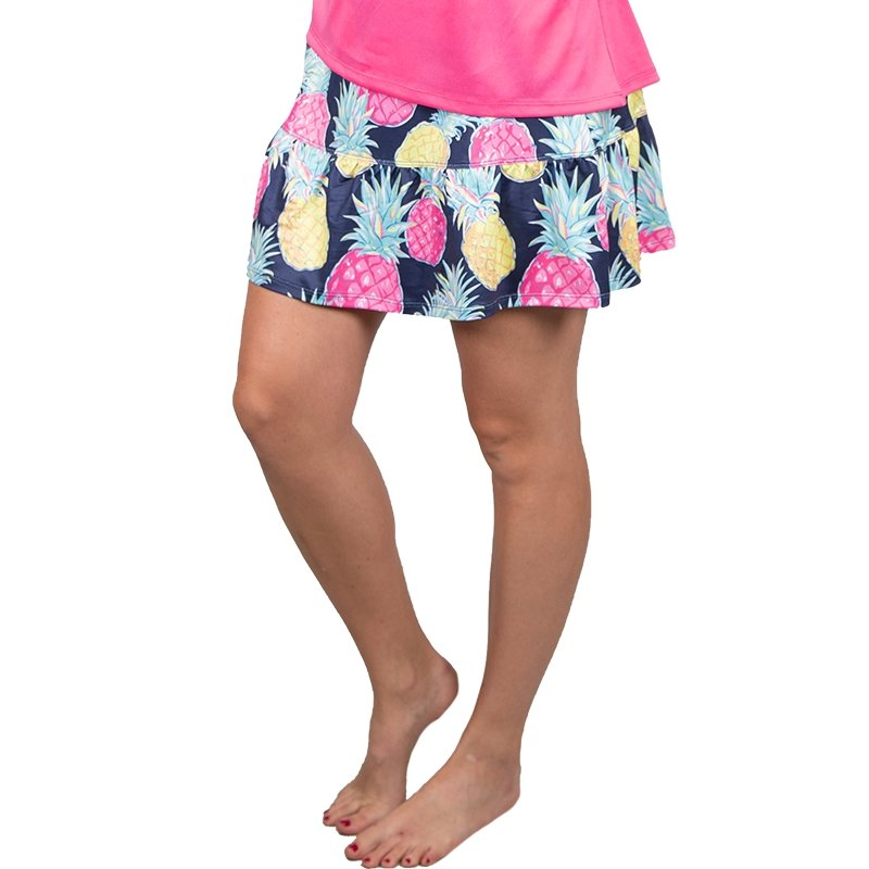PINEAPPLE PRINT SKORT - Molly's! A Chic and Unique Boutique
