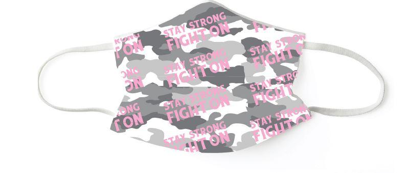 Pink Camo:  Set of 7 Masks - Molly's! A Chic and Unique Boutique