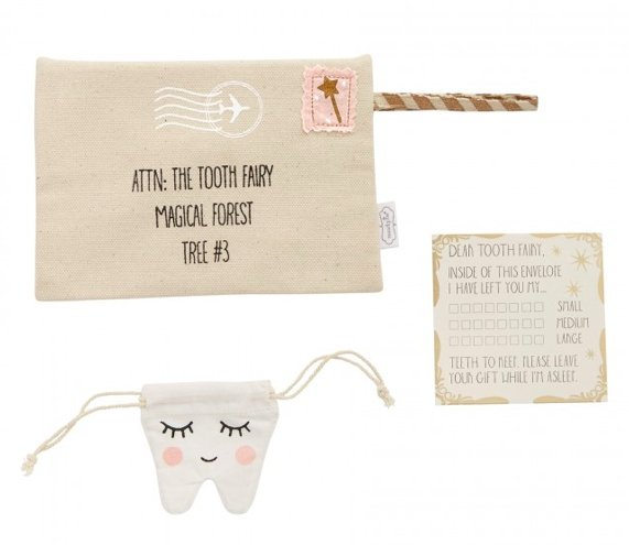 Pink Tooth Fairy Envelope - Molly's! A Chic and Unique Boutique