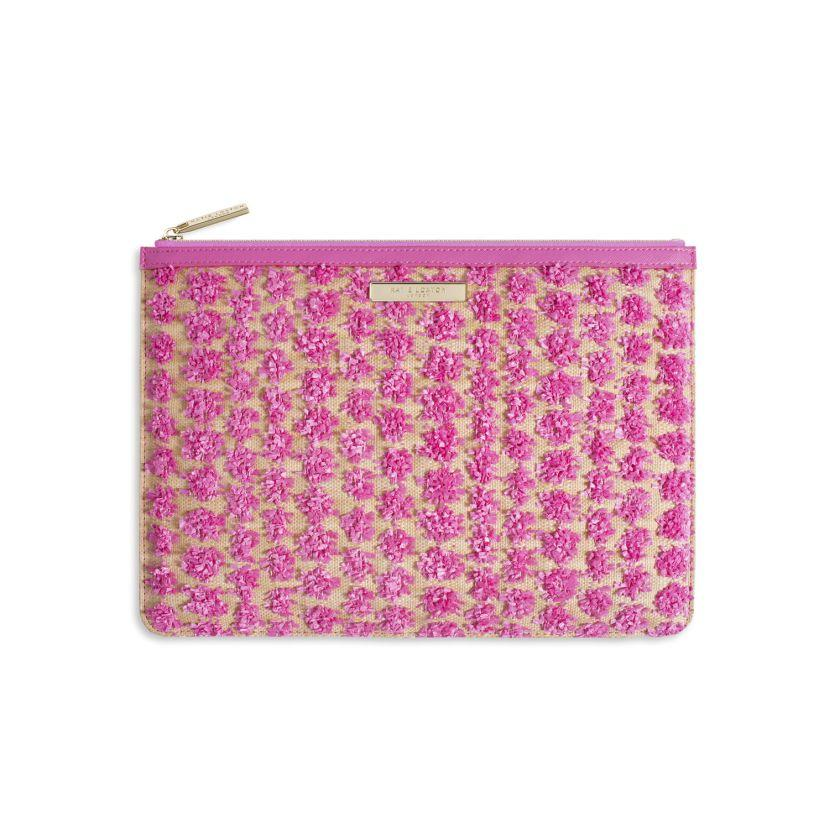 POLLY POM POM CLUTCH BAG - Molly's! A Chic and Unique Boutique