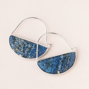 PRISM STONE HOOP EARRING - Molly's! A Chic and Unique Boutique