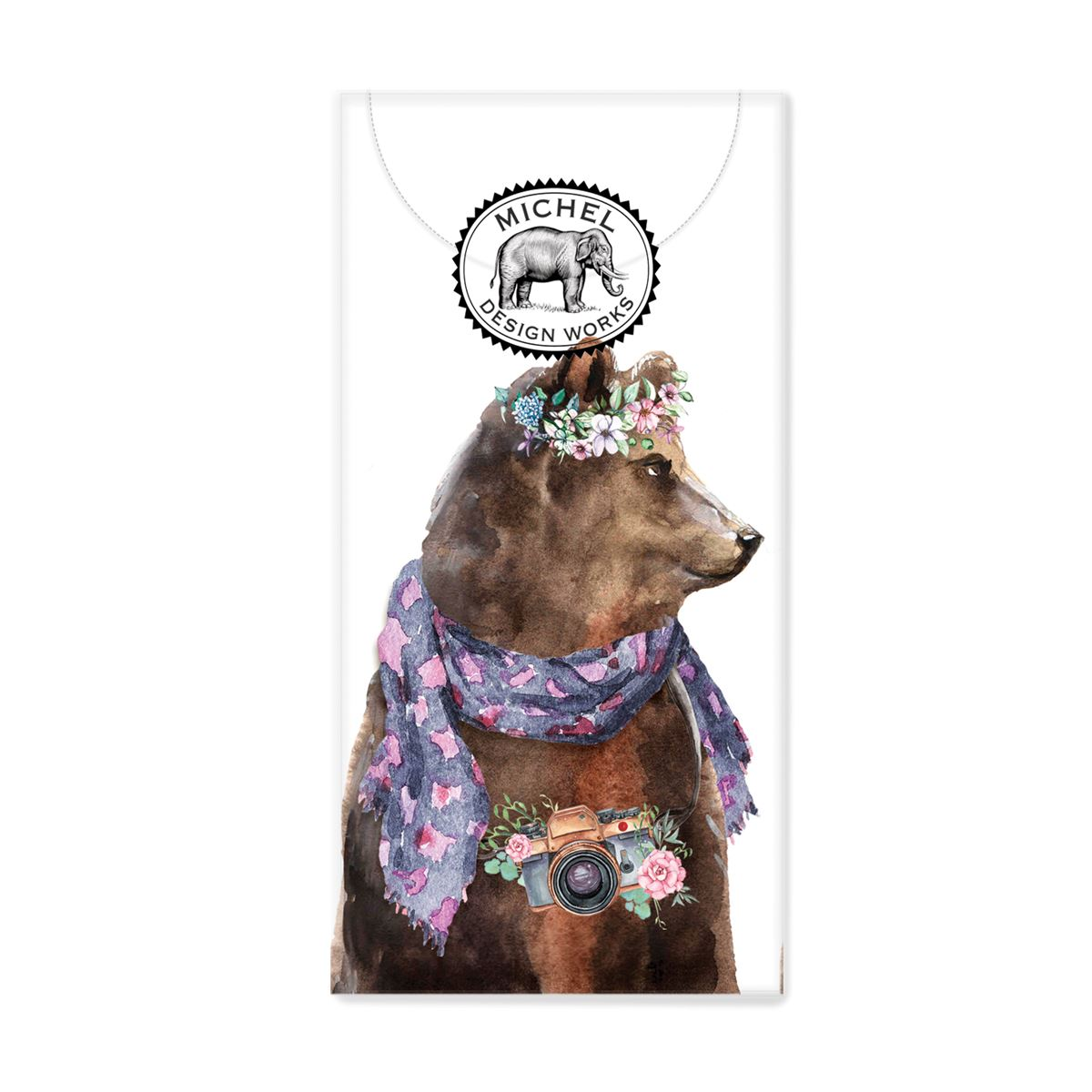 Garden Party Bear Pocket Tissues - Molly's! A Chic and Unique Boutique