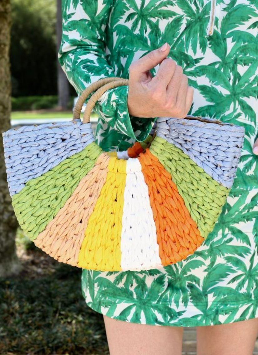 RAY OF SUNSHINE STRAW BAG - Molly's! A Chic and Unique Boutique