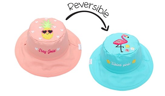Reversible Baby and Kids Sun Hat - Molly's! A Chic and Unique Boutique