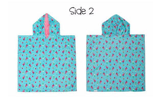 Reversible Kids Cover Up- Unicorn/Tropical - Molly's! A Chic and Unique Boutique