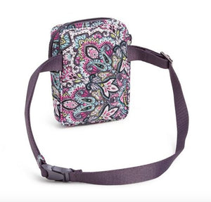 RFID SMALL CONVERTIBLE CROSSBODY IN BONBON MEDALLION - Molly's! A Chic and Unique Boutique