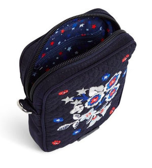RFID SMALL CONVERTIBLE CROSSBODY IN NAVY - Molly's! A Chic and Unique Boutique