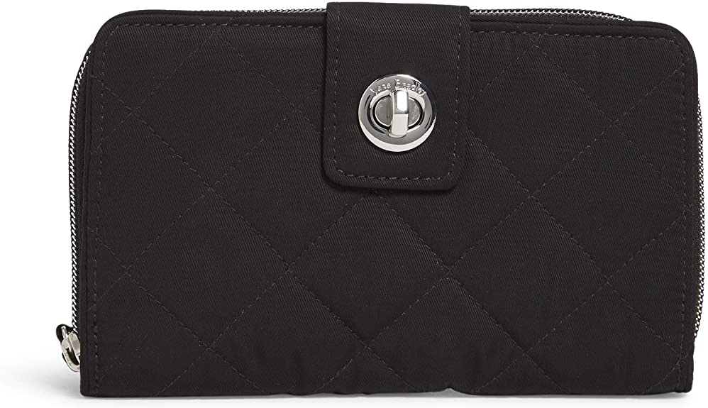 RFID Turnlock Wallet- Black - Molly's! A Chic and Unique Boutique