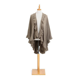 RUFFLED SHAWL - Molly's! A Chic and Unique Boutique