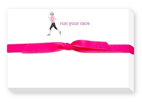 RUN YOUR RACE PUDGY NOTEPAD - Molly's! A Chic and Unique Boutique