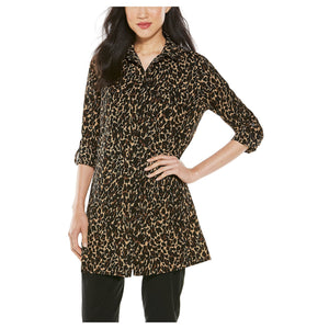 SANTORINI TUNIC LEOPARD (SIZE XS and 2XL only) - Molly's! A Chic and Unique Boutique