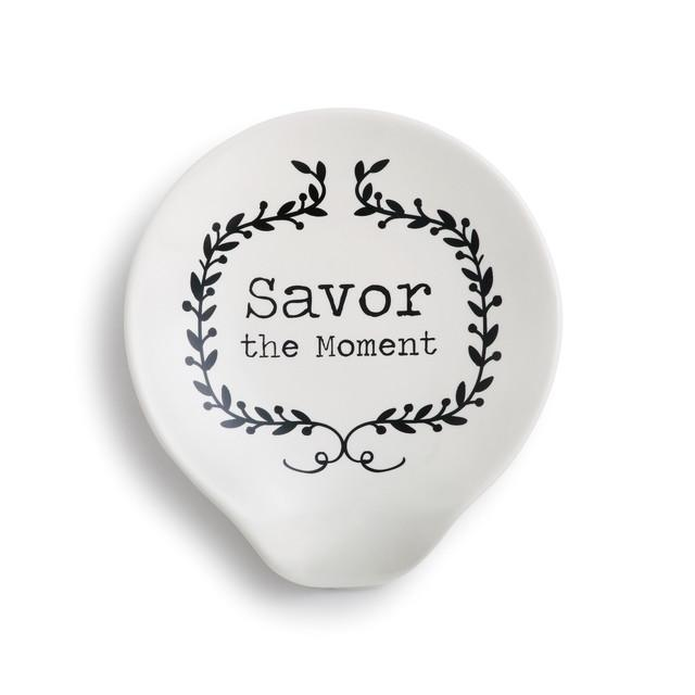 SAVOR THE MOMENT SPOON REST - Molly's! A Chic and Unique Boutique