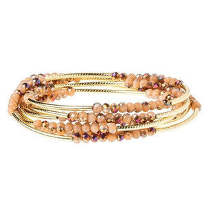 SCOUT WRAP BRACELET - DUNE & GOLD - Molly's! A Chic and Unique Boutique