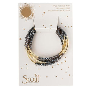 SCOUT WRAP BRACELET - SHADOW & GOLD - Molly's! A Chic and Unique Boutique