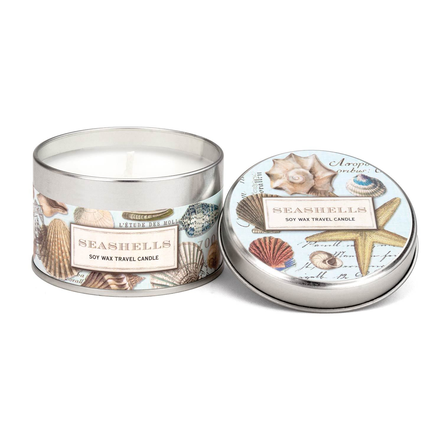 SEASHELLS TRAVEL CANDLE CANT304 - Molly's! A Chic and Unique Boutique