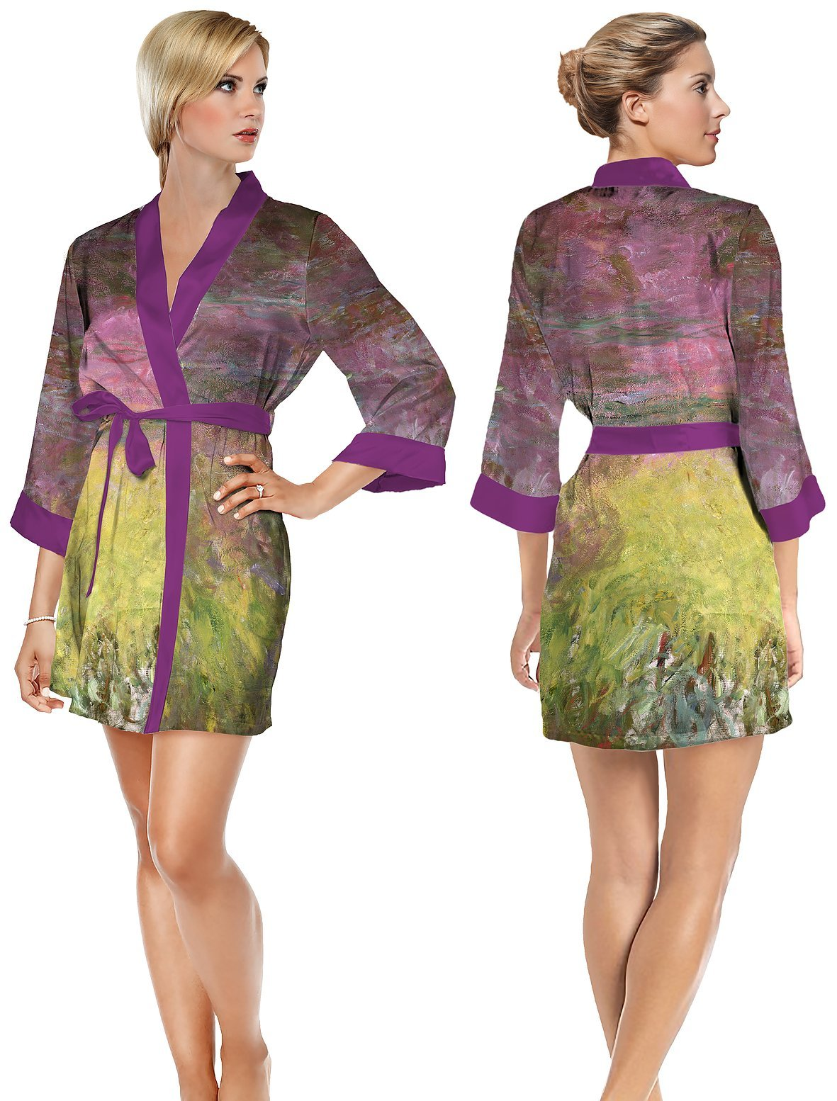 SHORT ROBE-WATERLILLY - Molly's! A Chic and Unique Boutique