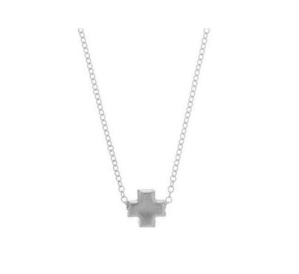 SIGNATURE CROSS- SILVER - Molly's! A Chic and Unique Boutique